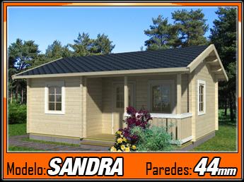 Bungalows de madera sandra 25 2m2 casas de madera y - Bungalow de madera ...