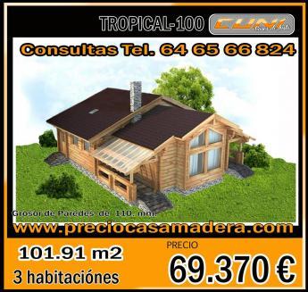 Casa de madera prefabricada tropical 100 casas de madera - Casas de madera tropical ...