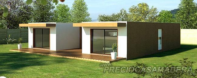 Casas prefabricadas madera casas moviles precios economicos for Casas modulares baratas precios