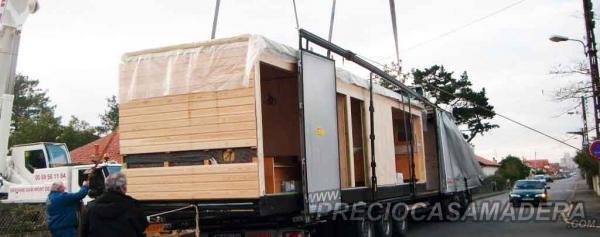 Transporte de casas de madera en galicia casas de madera - Casas moviles en galicia ...