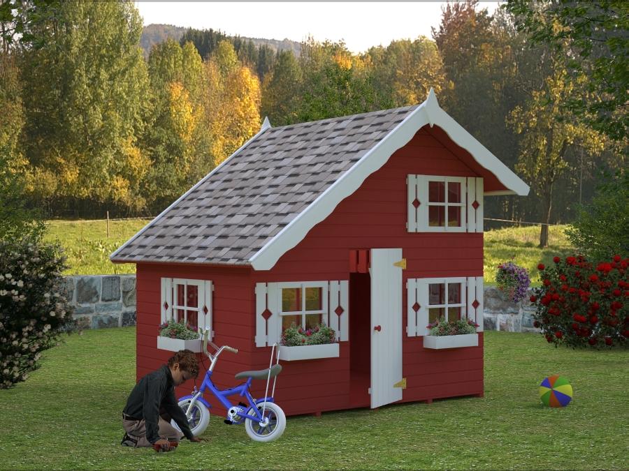 Casas infantiles de madera - Casas de Madera y bungalows en ...