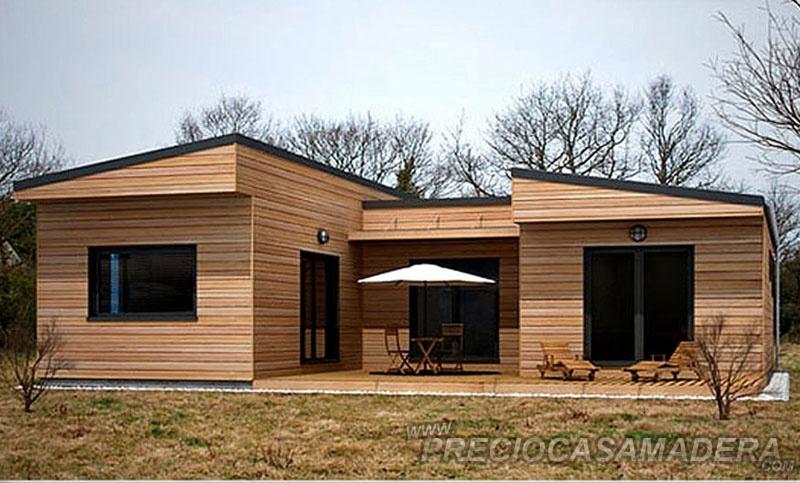 Casa de madera modular modelo 179m2 casas de madera y - Casas prefabricadas tarragona ...