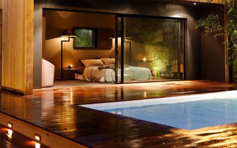 Casa de madera modular modelo 179m2 casas de madera y - Casas modulares de lujo ...