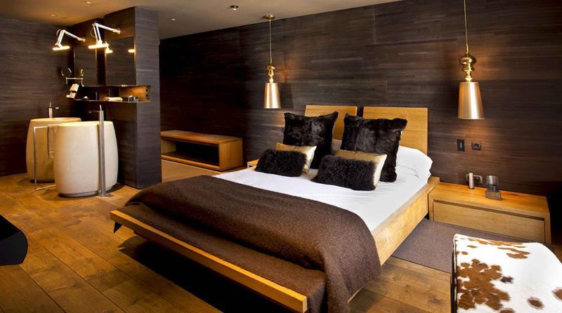 Interiores de casas normales v rias id ias - Interior casas de madera ...