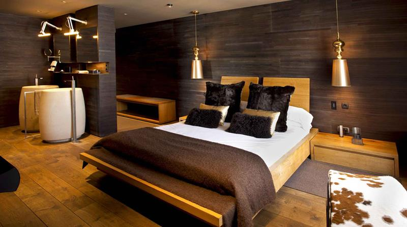 Casa de madera modular modelo 169m2 casas de madera y - Interior casas de madera ...