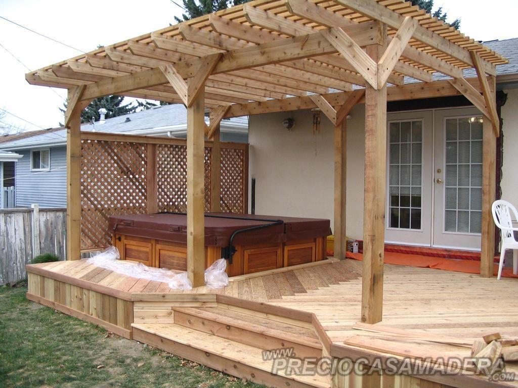 pergolas de madera ventajas