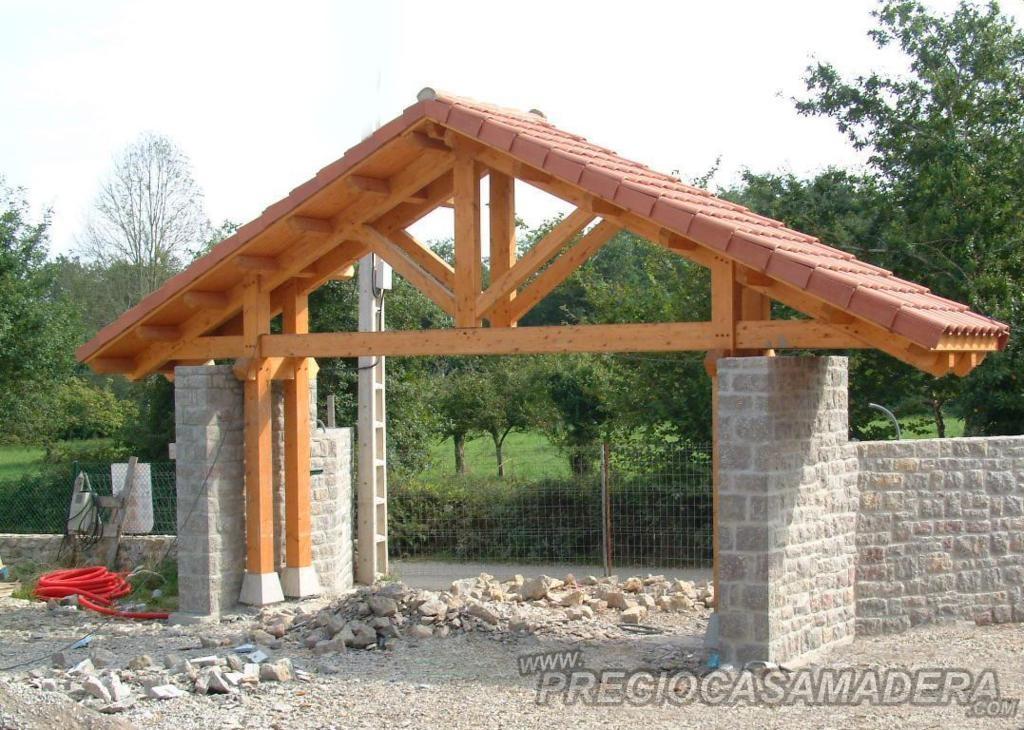 Pergola pergolas y techos de hierro decoraci n de - Pergola de hierro ...
