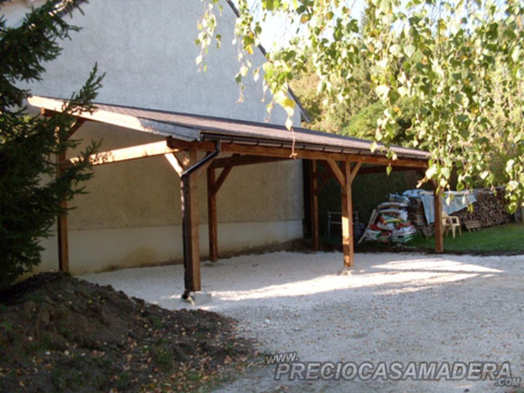 Dudas sobre las pergolas casas de madera y bungalows en for Assurance pour garage seul