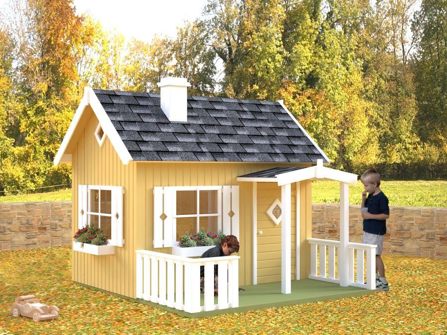 Caseta infantil otto 233x157cm casas de madera y - Casitas de maderas infantiles ...