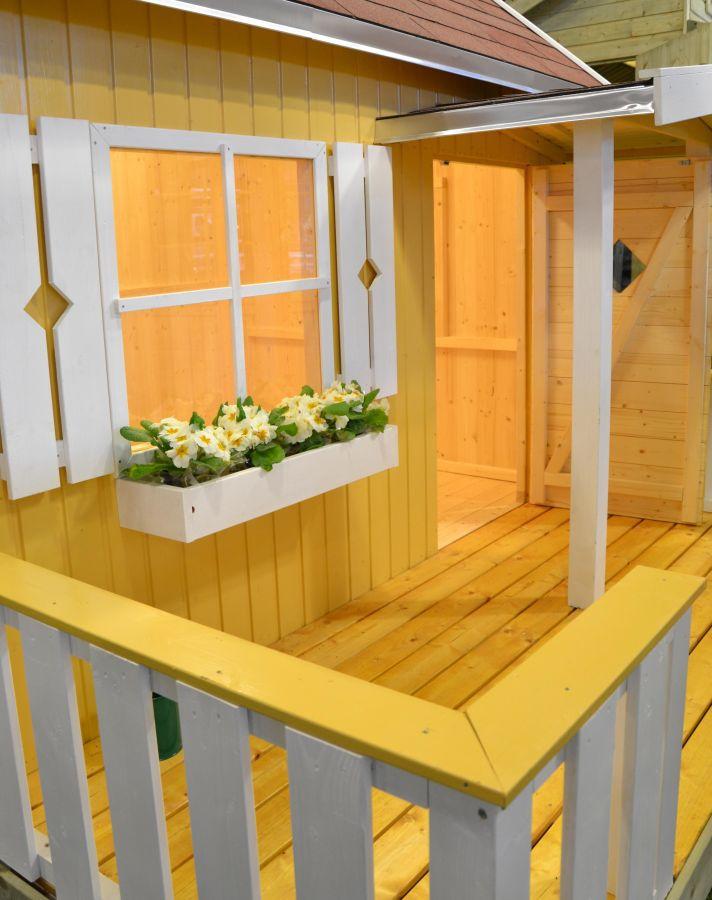 Caseta infantil otto 233x157cm casas de madera y - Casa madera infantil ...