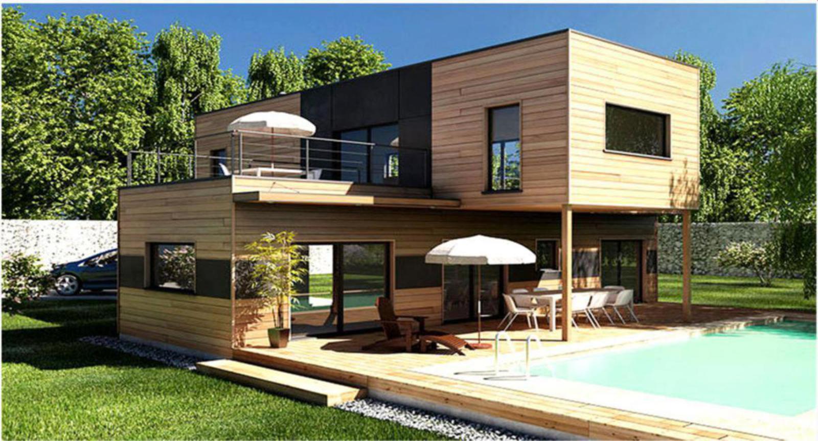 Bungalows modulares a medida casas de madera y for Casas de madera a medida