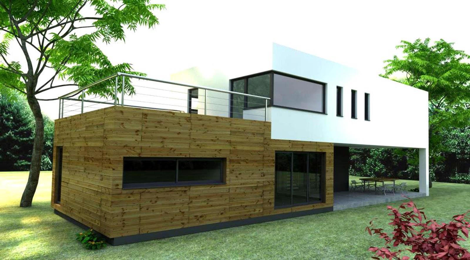 Bungalows modulares a medida casas de madera y bungalows en tarragona dise os a medida for Casas de madera a medida