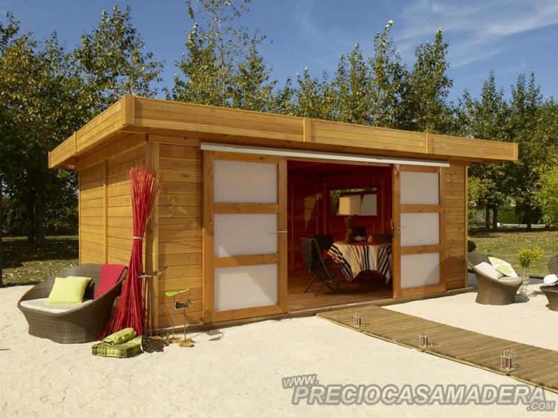 Bungalows modular terre neuve 20m2 casas de madera y - Casas prefabricadas tarragona ...
