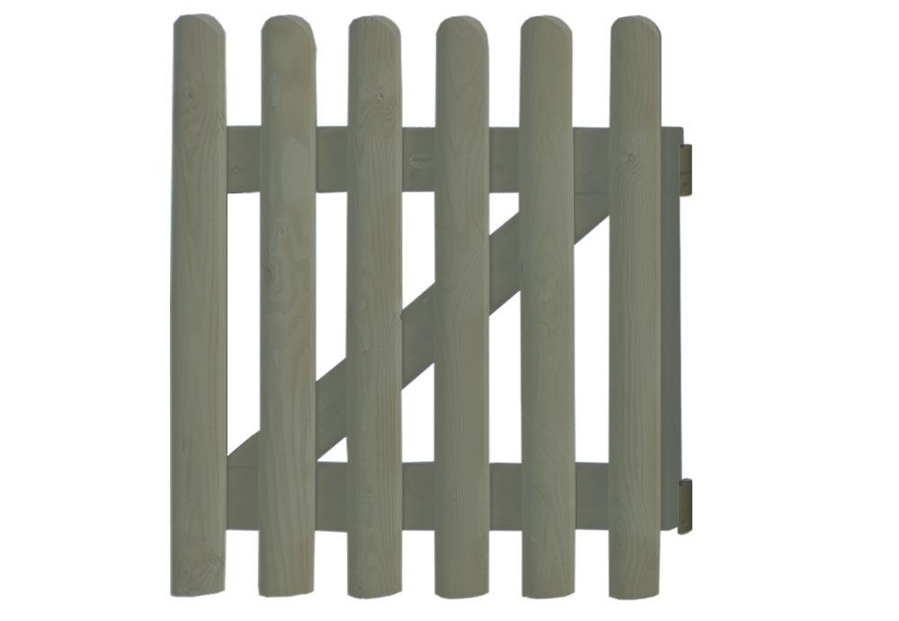 Portilla bistrol con l minas bombeadas casas de madera y for Portillon bois en kit