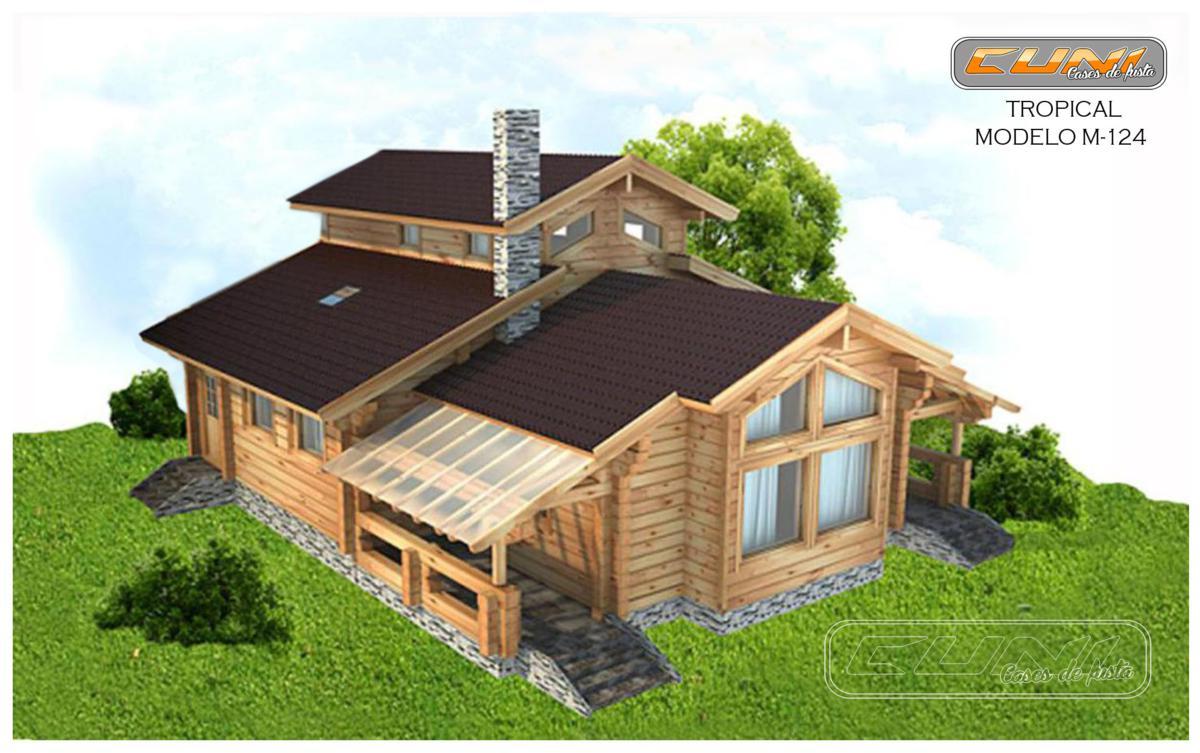 Casas De Madera Tropical - Ideas De Disenos - Ciboney.net
