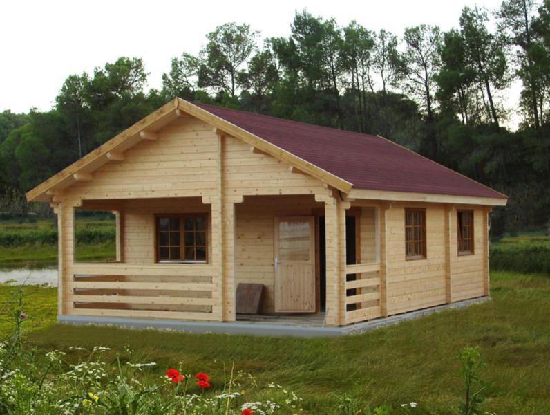 Casas de madera tradicionales casas de madera y - Casas prefabricadas tarragona ...