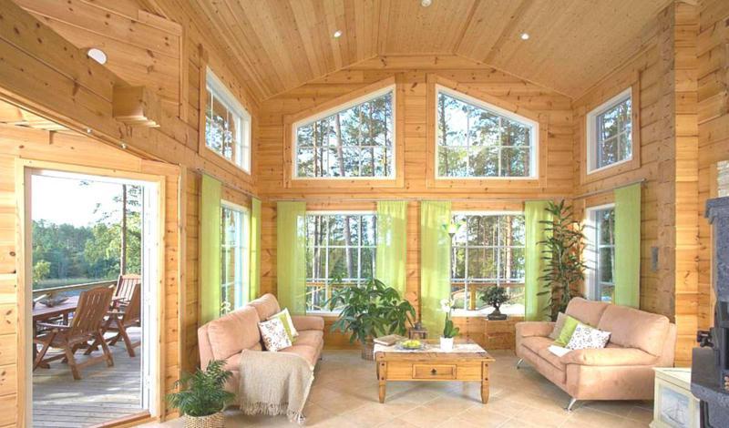 Casas de madera tradicionales casas de madera y - Casas de madera nordicas ...