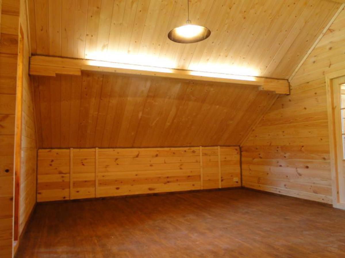 Casa de madera prefabricada alicia casas de madera y - Casa madera barata ...