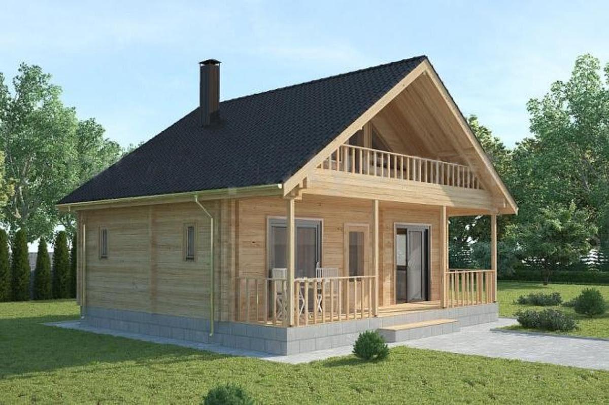 Casa de madera prefabricada bora bora casas de madera y - Casas prefabricadas tarragona ...