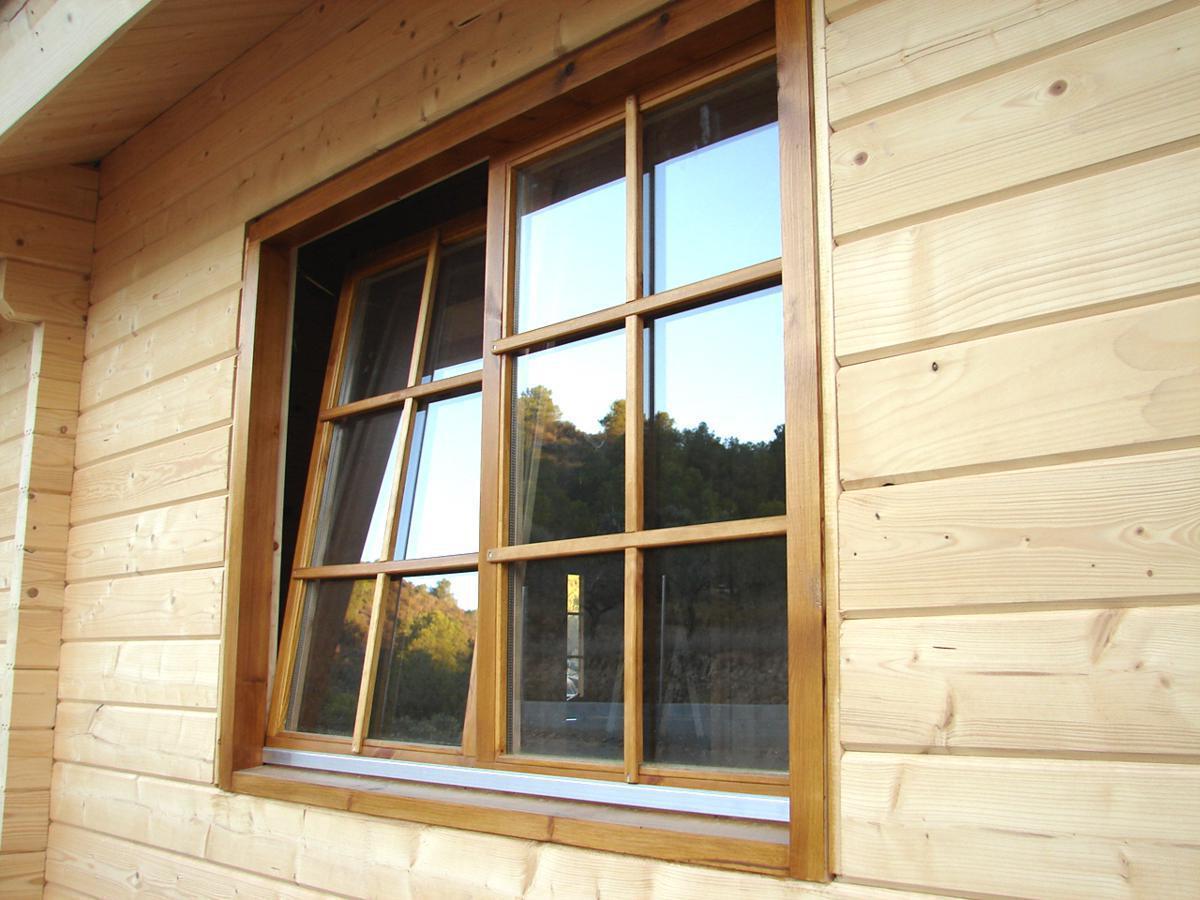 Bungalow de madera elisa f casas de madera y bungalows - Casas prefabricadas tarragona ...