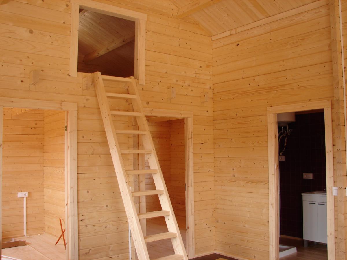 Bungalow de madera elisa f casas de madera y bungalows - Casas de madera barcelona ...
