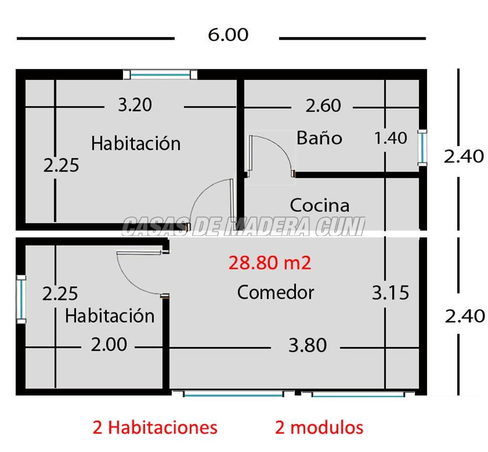 Planos Casas De Madera Y Bungalows En Tarragona Diseños