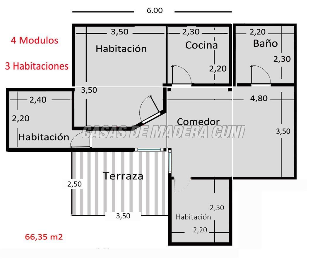 Planos Casas De Madera Y Bungalows En Tarragona