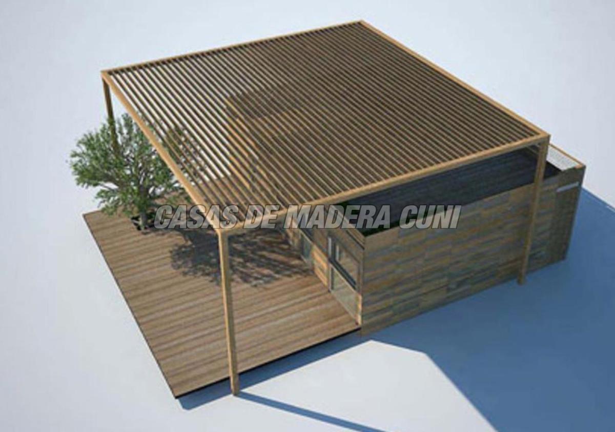 Modelos casas de madera y bungalows en tarragona dise os a medida - Mini casas de madera ...