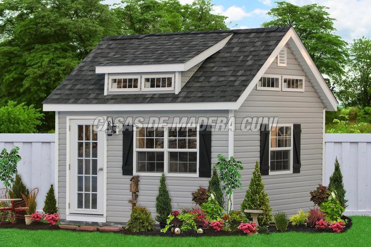 Modelos tradicionales con tejado a dos aguas casas de for Tejados de madera a 4 aguas