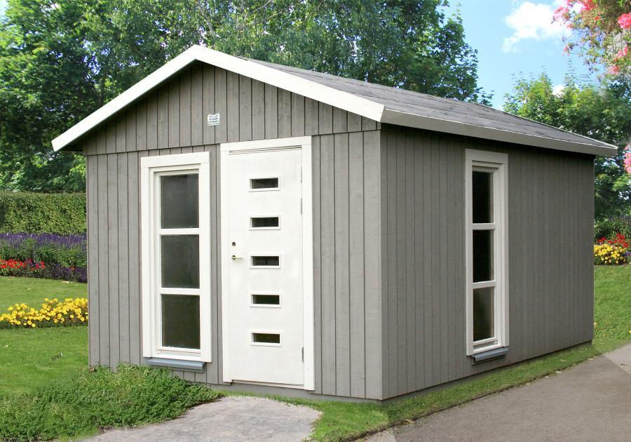 Casas de madera prefabricadas casas de madera y bungalows - Casa de madera jardin ...