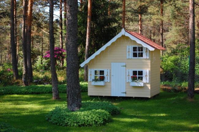 Casas de madera para jard n casas de madera y bungalows en tarragona dise os a medida - Casa jardin madera ...