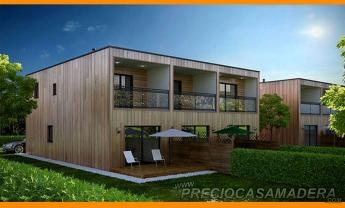 Casas modulares de madera casas de madera y bungalows en for Casas prefabricadas financiadas